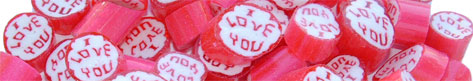 Personalized Candy – I Love You Lollies